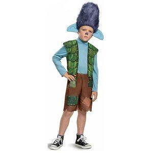 NEW Branch Trolls Halloween Costume 3T-4T SM MED